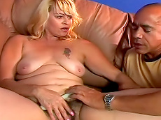 Guy DaSilva, Stormy Weathers - blowjob, blonde, facial, fat, licking, fuck, HD
