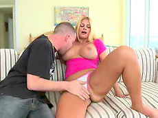 Brooklyn Bailey - blonde, big dick, doggy style, fat, cunt